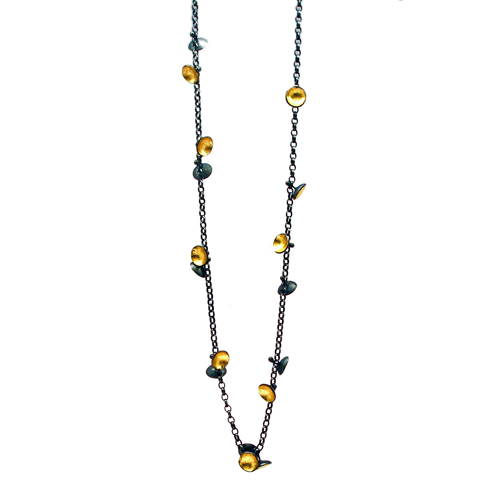 Jenifer Wall Cluster Necklace