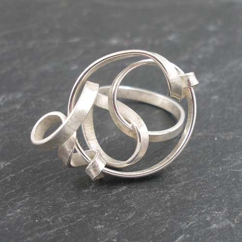 Spin Ring by Frances Stunt