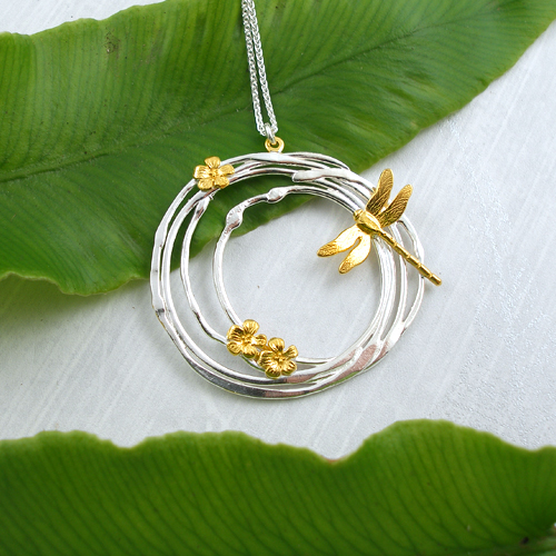 Claire Troughton- Dragonfly Necklace