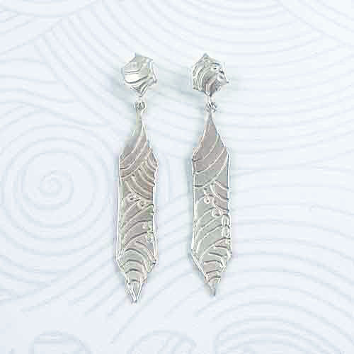 Fiona Hutchinson Japanese Wave Earrings