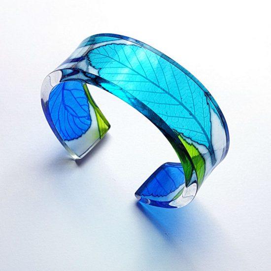 Turquoise Whitebeam Narrow Cuff