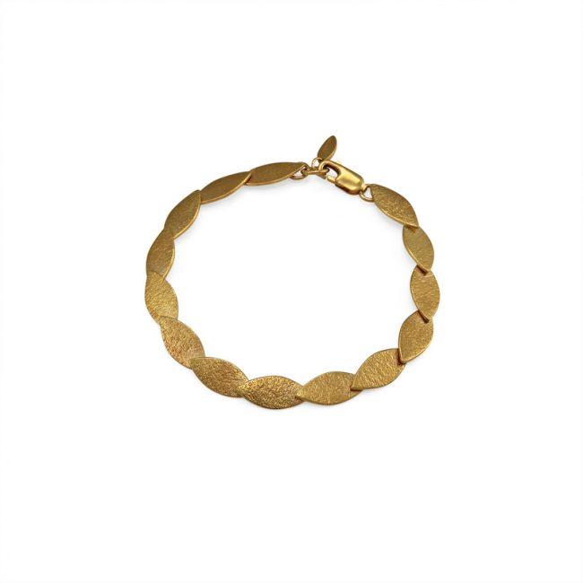 Icarus Align Bracelet in gold vermeil