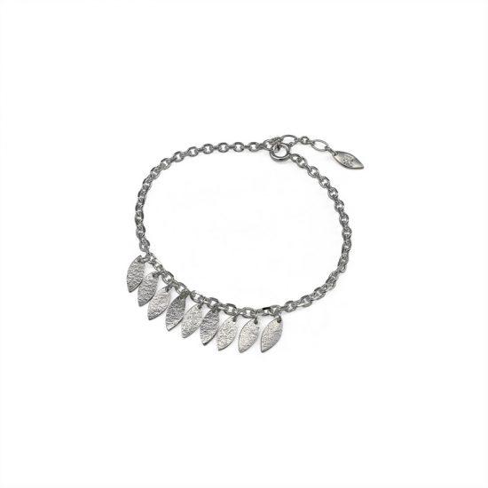 Icarus Dainty Drops Bracelet in silver