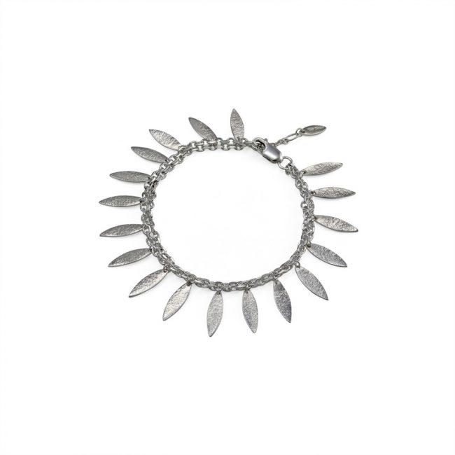 Icarus Drops Bracelet in silver