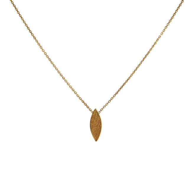 Icarus Pendant in gold vermeil