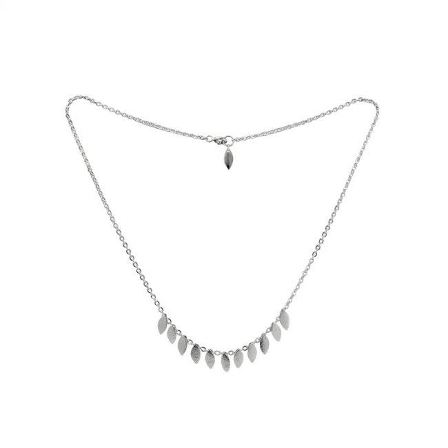 Icarus Short Necklace in silver