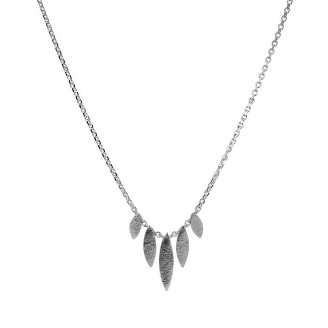 Icarus Graduated Necklace in silver