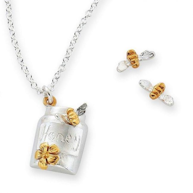 Bee's Knees Honeypot Pendant