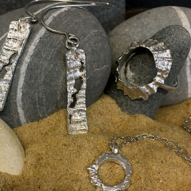 Silver jewellery by Milly Munday