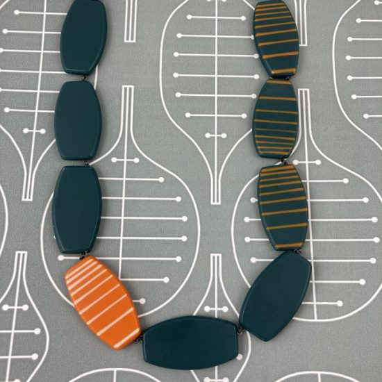 Reversible necklace by Karen McMillan
