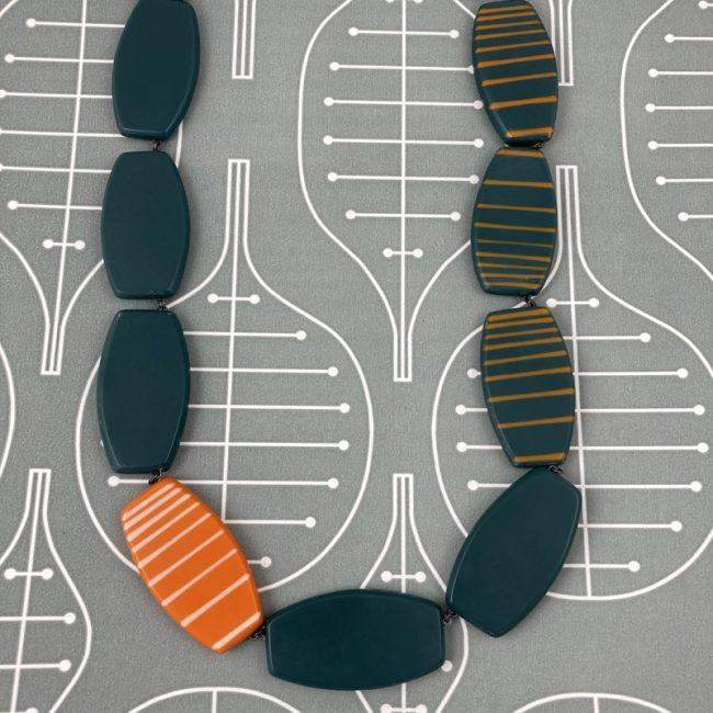 Reversible necklace by Karen McMillan